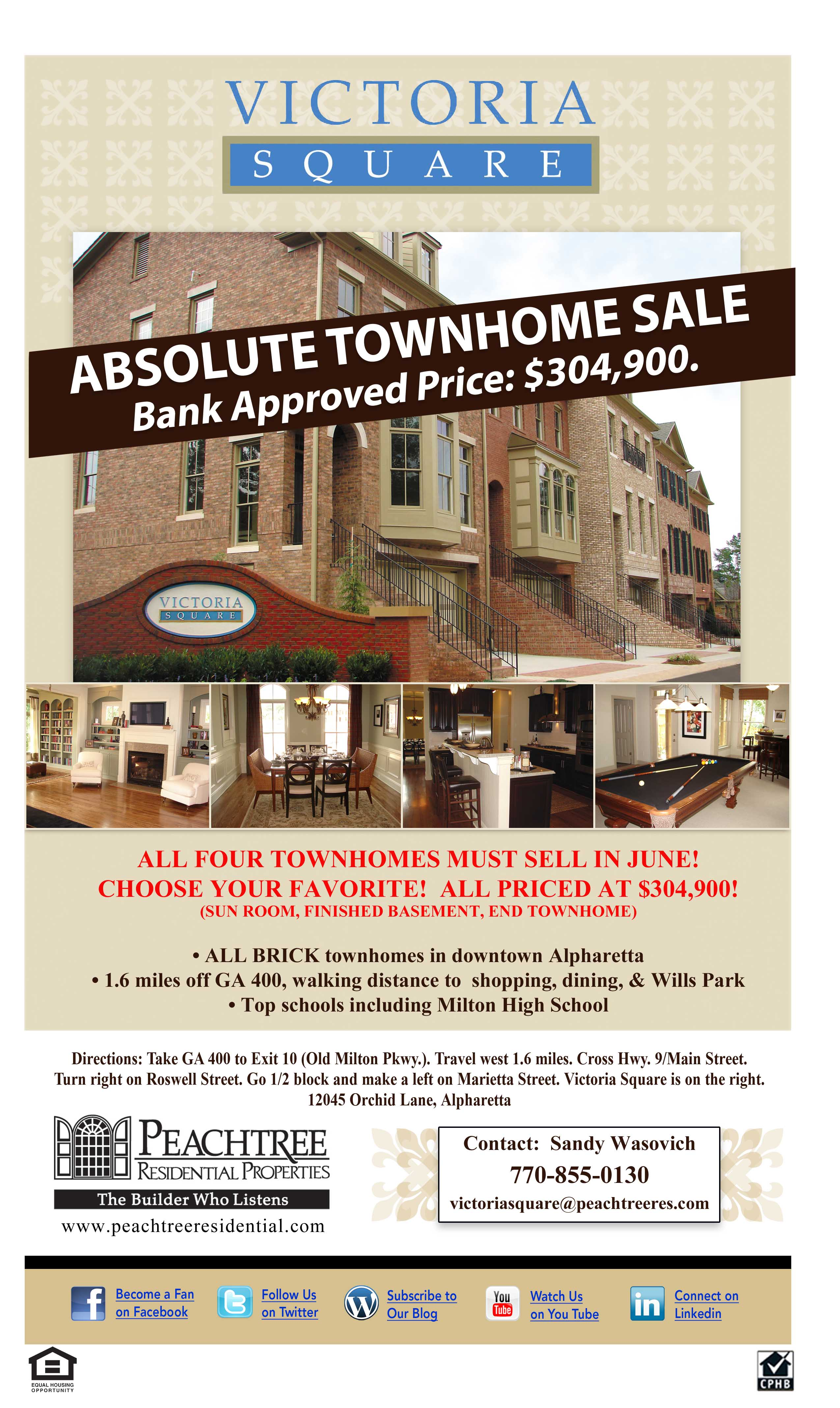 News Victoria Square And Tagged Absolute Townhome Sale Alpharetta GA New Homes Townhomes Atlanta Home