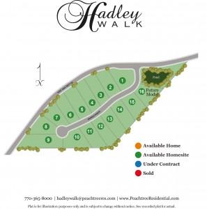 Hadley Walk Site Plan