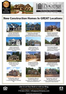 Peachtree Residential Inventory Homes Ready Now