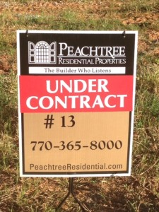 under contract lot 16 Hadley Walk