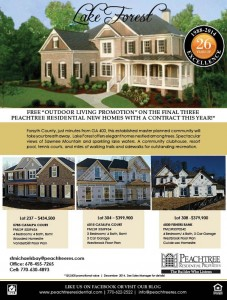 Final 3 New Homes in Lake Forest by Peachtree Residential