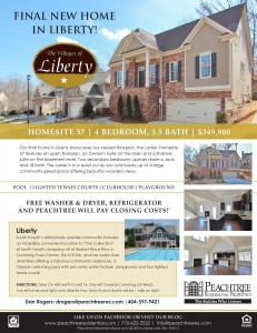 Final New Home in Liberty
